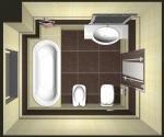 Ремонт квартиры - совмещенный санузел