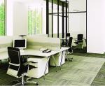 Ремонт офиса в Москве, светлая мебель